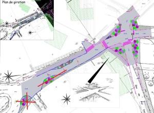 151202 Urbanisme carrefour Pré-Lachat projet