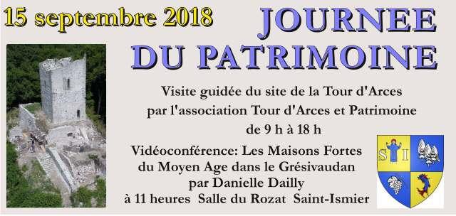 Arces patrimoine 2018